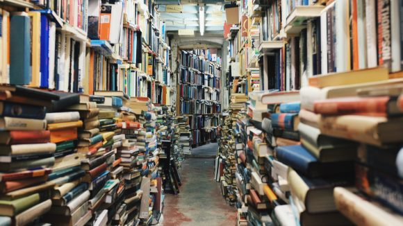 Bücher über Bücher! Gibt es in Berlin unter anderem in folgenden tollen Bibliotheken...