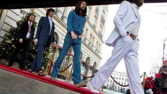 """In Erinnerung an ihr elftes Studioalbum """"Abbey Road""""."""