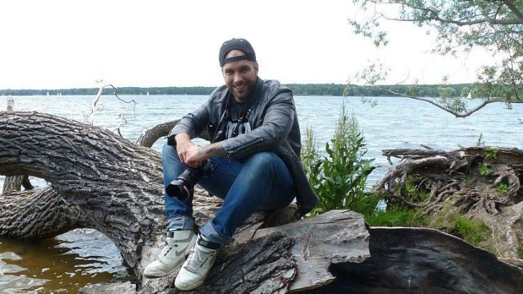 Benjamin Jaworskyj vor einem seiner Lieblingsmotive.