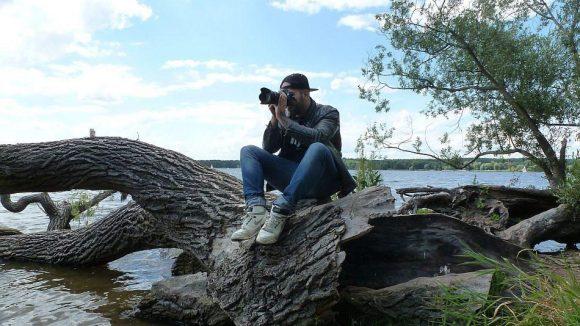 Auch wenn der Fotograf zu einem bestimmten Zweck am Wannsee ist ...