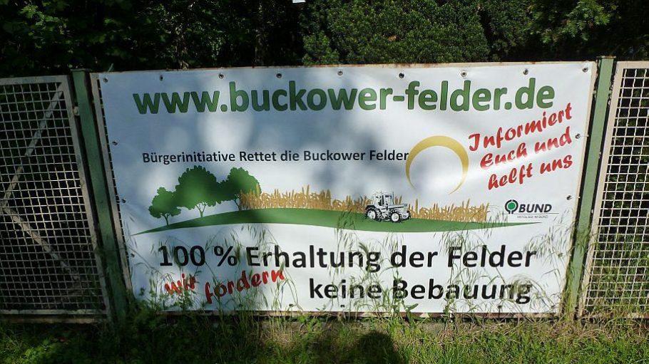 Die Initiative der Anwohner wollte sich mit einem Bürgerbegehren für 100 Prozent freie Felder einsetzen.