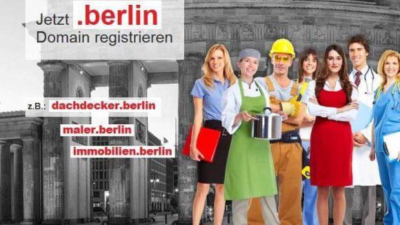 Vor allem Berliner Unternehmen bietet .berlin enorme Wettbewerbsvorteile.