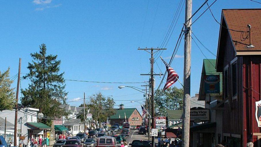 Berlin in Holmes County, Ohio, ist geprägt von den Amish People - auch wenn auf diesem Bild keine Kutschen zu sehen sind.