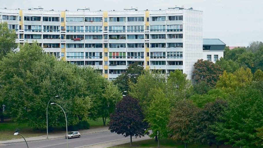 Der Berliner Platz der Vereinten Nationen hier früher Leninplatz. Von dem russischen Revolutionär ist heute hier nichts mehr zu sehen.