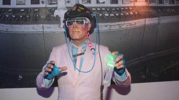 ... DJ Superzandy legte auf ...