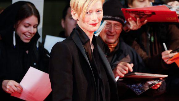 """Wir beginnen unsere Bilderstrecke mit einer starken Frau und Schauspielerin: Tilda Swinton ist Hauptdarstellerin im Berlinale-Eröffnungsfilm """"Grand Budapest Hotel"""". Zusammen mit ..."""