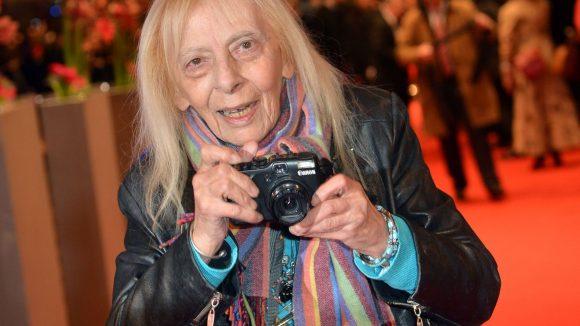 Ein Urgestein der Berlinale: Die Fotografin Erika Rabau durfte bei den Berliner Filmfestspielen nicht fehlen.