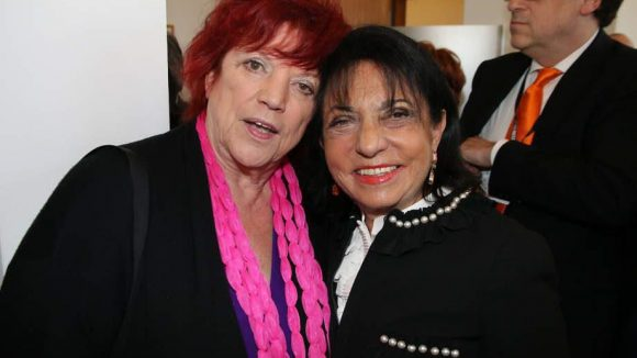 Zwei weitere Gäste fast gleichen Namens: Deutschlands bekannteste Filmproduzentin Regina Ziegler (l.) und Sponsorin Regine Sixt.