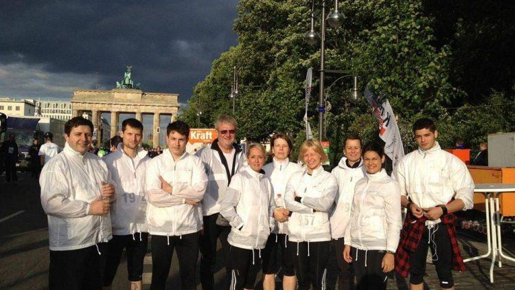 Auch das Team der BFB BestMedia4Berlin GmbH darf nach der Teilnahme am Berliner Firmenlauf stolz auf sich sein!