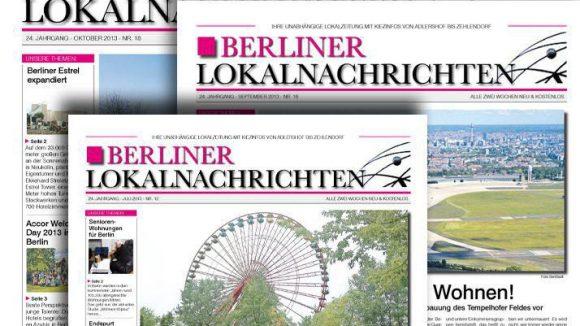 Die Kiezzeitung Berliner Lokalnachrichten liefert spannende Themen aus dem Kiez.