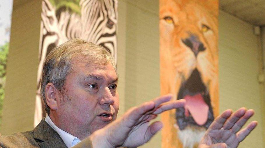 Der scheidende Zoodirektor Anfang des Jahres auf der Grünen Woche.