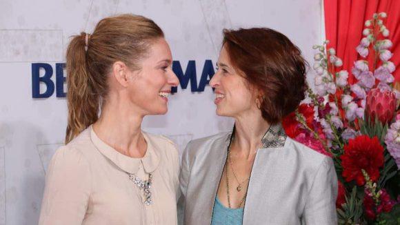 Die Schauspielerinnen Lisa Martinek und Tanya Neufeldt (v.l.) verstanden sich wie immer blendend.