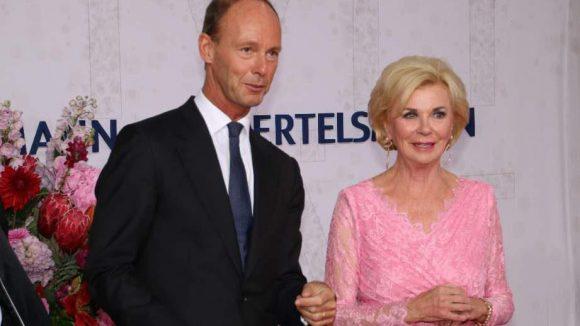 Gastgeber des Abends Unter den Linden waren Thomas Rabe, der Bertelsmann-Vorstandsvorsitzende, und Bertelsmann-Eigentümerin Liz Mohn.