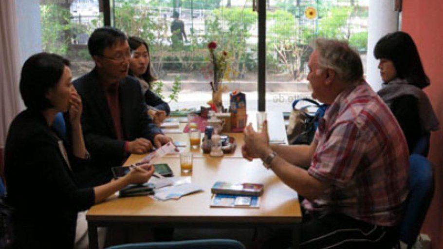 Besuch aus Seoul im SCC