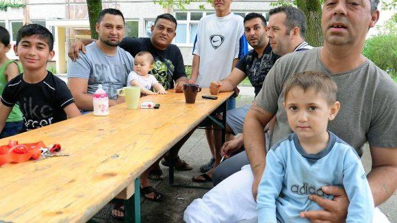 Unter den 400 Bewohnern des Flüchtlingsheims in Hellersdorf sind rund 100 Kinder.