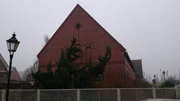 In dem roten Klinkerbau war früher eine Bibliothek untergebracht.