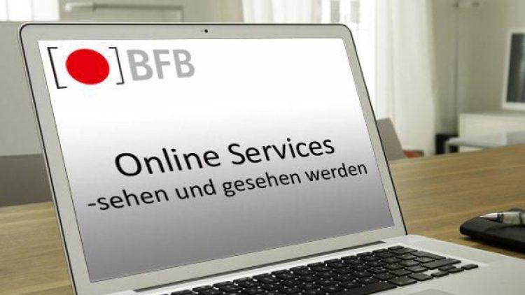 Sehen und gesehen werden - mit Online-Services von BFB BestMedia4Berlin.