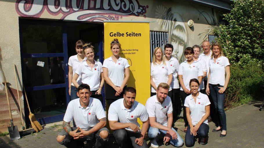 BFB-Mitarbeiter zu Gast im Jugendtreff Fairness.