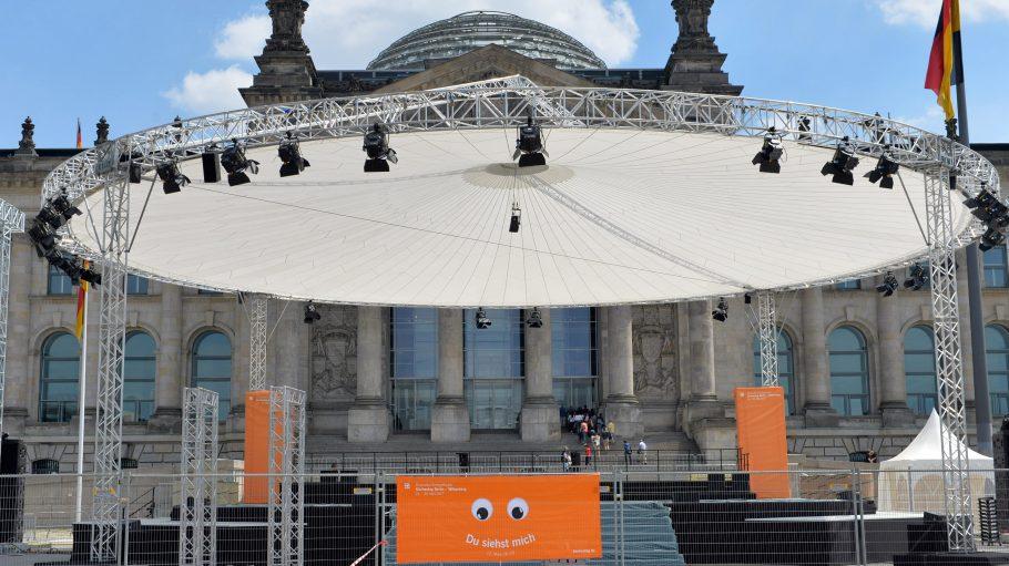 Beim diesjährigen Kirchentag in Berlin wird das 500-Jahre-Jubiläum der Reformation Martin Luthers gefeiert.
