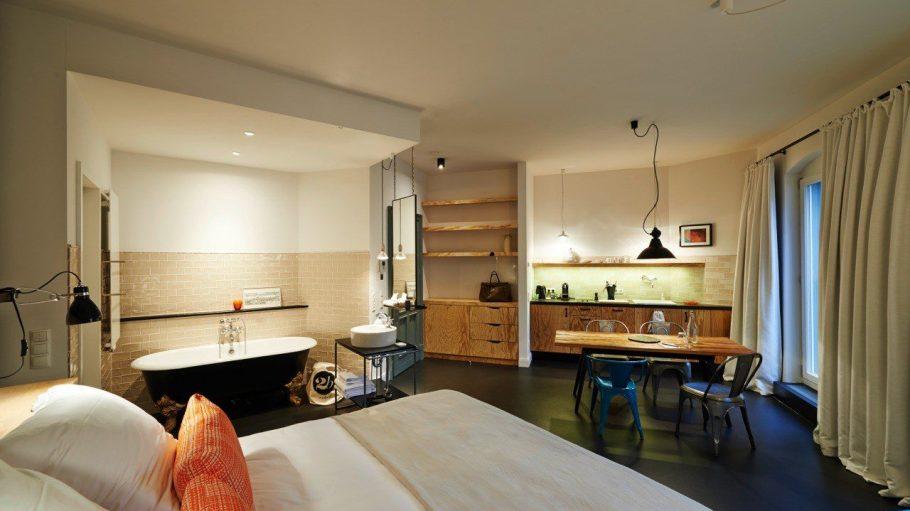 35 unterschiedlich eingerichtete Apartments bietet Gorki Apartments an.