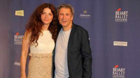"""Schauspieler Michael Kind (""""Die Küstenwache"""") kam mit Birgit Karbjinski zur Premiere."""