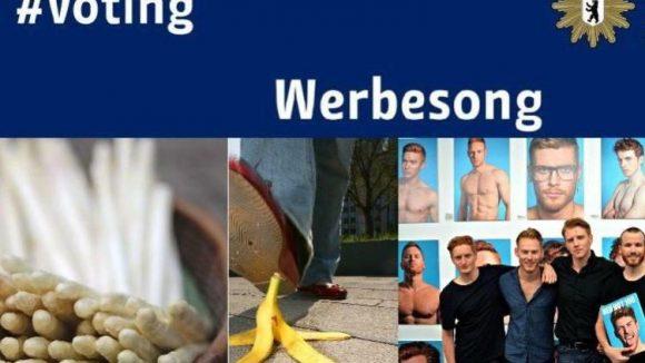 Ein Werbesong für Nachwuchs-Polizisten, heiße Herren und Lebensmittel, die zum Trend werden; über all das berichten Berlins Blogs.