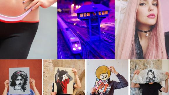 Eine Herausforderung mit Bauchnabel, das Schöne an der Modelleisenbahn, der Trend um die 90er-Kette und Streetart zum Angucken: All das haben Berlins Blogs in dieser Woche hübsch verpackt.