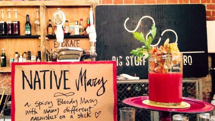 Katerschreck: Bloody Mary beim Breakfast Market in der Markthalle Neun.