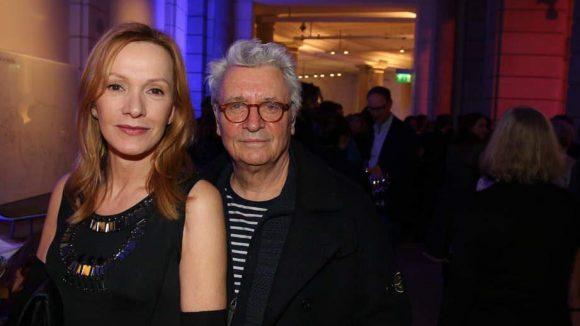 Zwei der bekannteren Gesichter der deutschen Film- und Fernsehlandschaft: Katja Flint und Henry Hübchen.