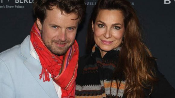 Schauspielerin Alexandra Kamp brachte ihren Freund, Fotokünstler Michael von Hassel mit.