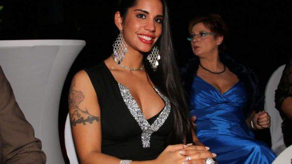 Und das, äh, Beste zum Schluss: Bodybuilderin Agapy-Amrita Singh.