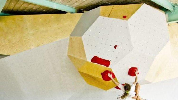 Die neue Boulderhalle Bright Site im Naumannpark.