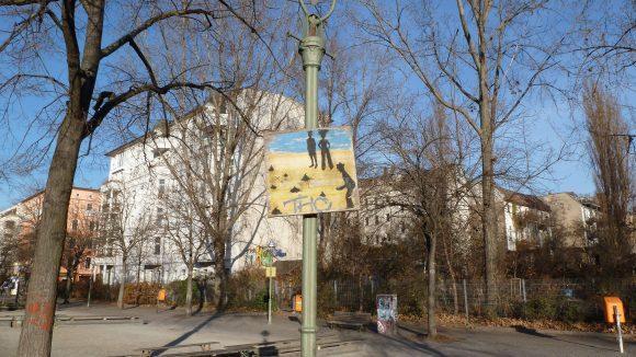 Hier darf geboulet werden: Die Bahnen des 1. Boule Club Kreuzberg