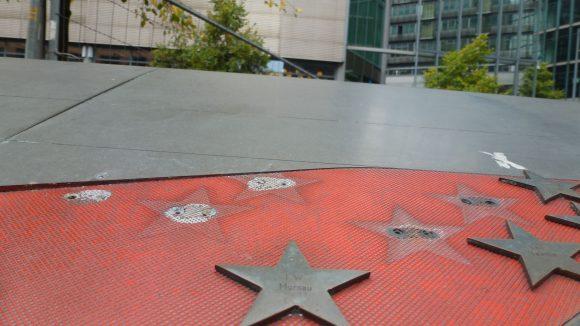 Kleine Sterne sind beliebte Souvenirs.