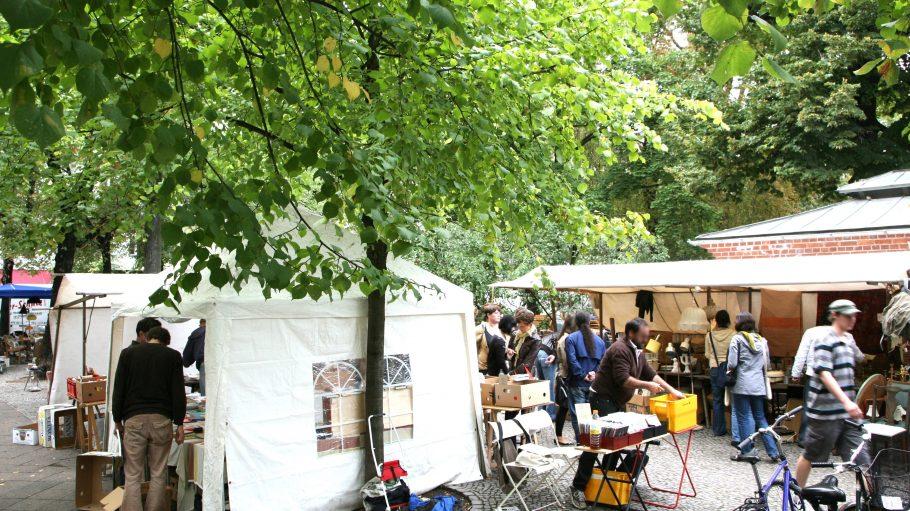 Der Flohmarkt Boxhagener Platz