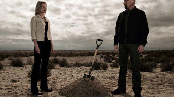 """Wer tief gräbt, ... Nicht nur in der Fernsehserie """"Breaking Bad"""" verbergen sich Drogen hinter der gutbürgerlichen Fassade."""