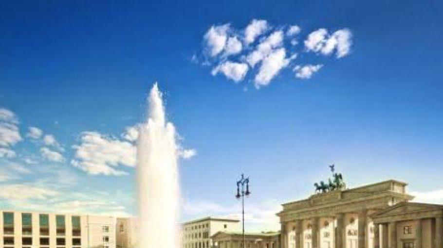 Die Brunnensaison in Berlin ist wieder eröffnet.