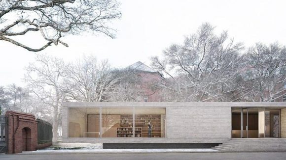 Der Gewinnerentwurf aus dem Büro Bruno Fioretti Marquez Architekten.