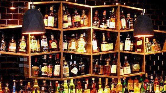 Auswahl gibt es jedenfalls schon mal genug in der Bryk Bar.