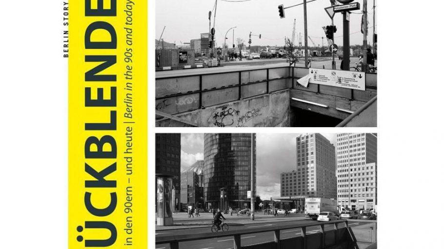 """Das Buch """"Rückblende"""" zeigt die Stadt in den 90ern - und heute."""