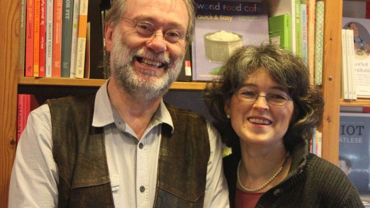 Seit 1986 führen Claus Weber und seine Frau Marianne Hahn die Kiezbuchhandlung Leselust, die gleichzeitig Café ist.
