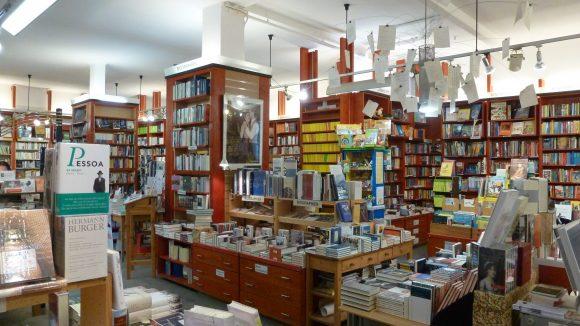 Ein Paradies für Bücherwürmer: Die Buchhandlung Schleichers in Dahlem-Dorf.