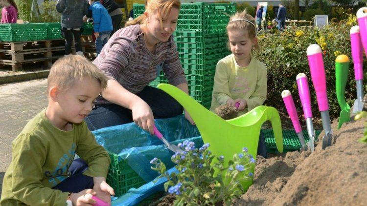 Künftig können Familien in Buckow gemeinsam gärtnern.