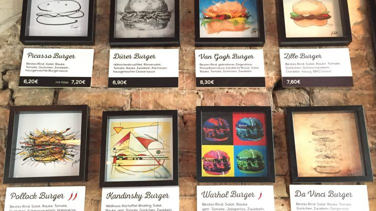 Bei Burger Art ist jedes Brötchen ein kleines Kunstwerk.