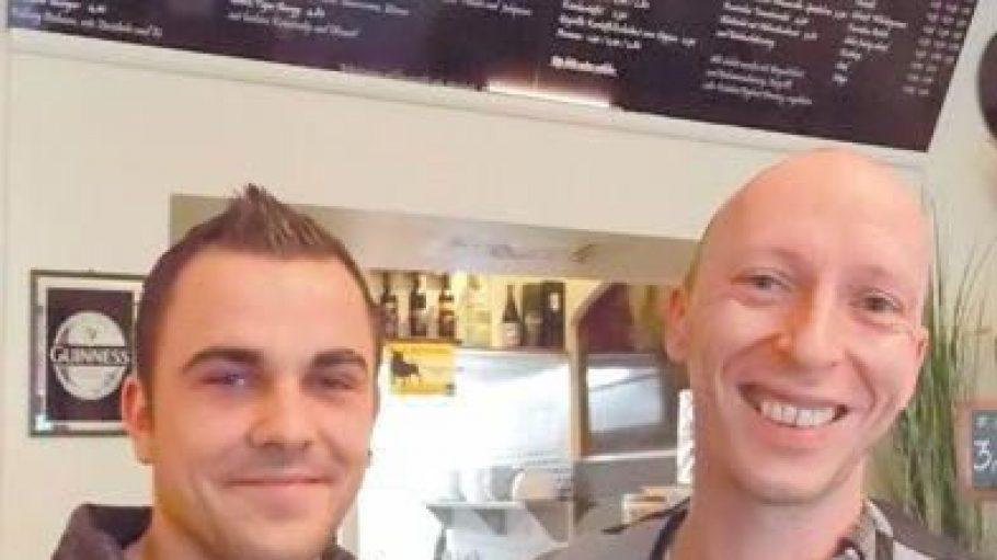 Dennis Milow und Philip Jüngling sind Inhaber der Burgerie.