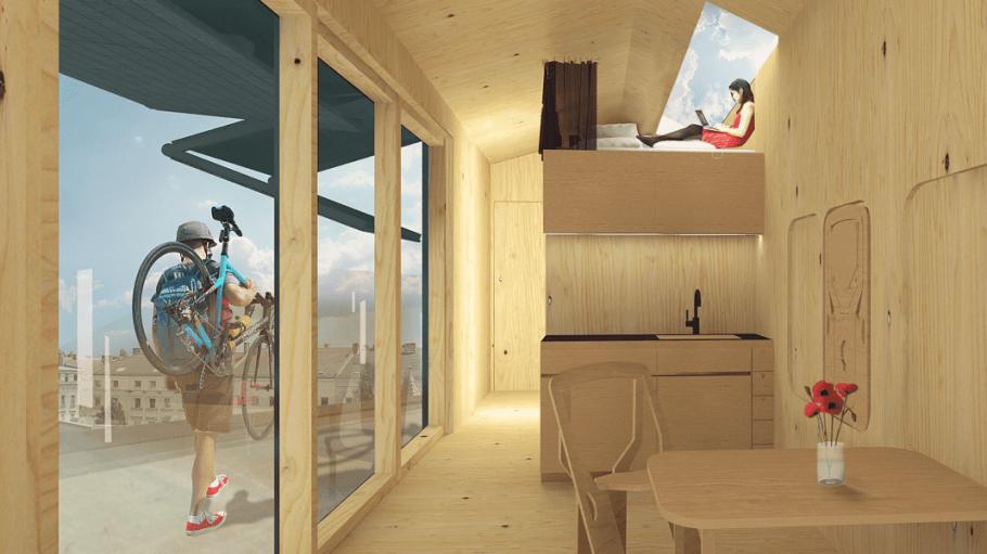 Ein Haus auf dem Dach: Cabin Spacey macht's möglich.