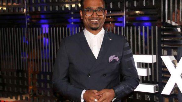 Gastgeber des Abends: Cadillac Europa-Chef Vijay Iyer.