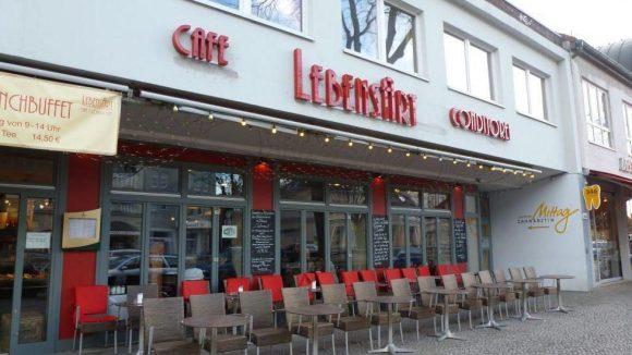Steht bei Tina Ruland hoch im Kurs: das Café Lebensart auf der Clayallee.