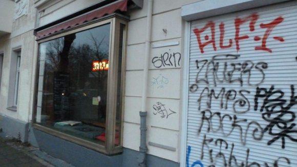 """Hier gibt es nicht ein Café neben dem anderen: das Sgaminegg in der Seelower Straße 2 findet der """"Doctor's Diary""""-Darsteller ganz gemütlich."""