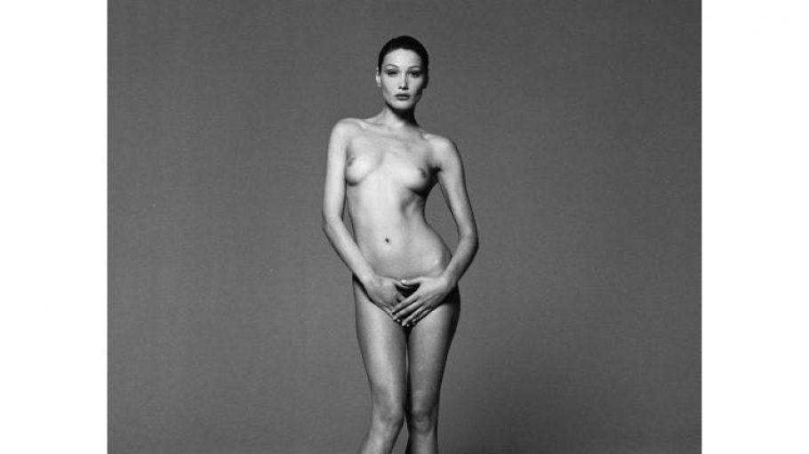 Einer der Highlights der Fotoausstellung von Michel Comte: Das Akt-Bild von Carla Bruni. Zu sehen ist die Ausstellung in der Galerie Camera Work.